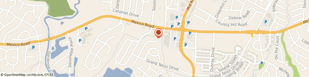 Route/map/directions to SUPERCUTS, 63376 Saint Peters, 1345 Triad Center Dr Ste H