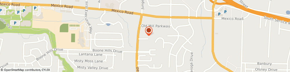 Route/map/directions to Donovan Auto Body & Sales, 63376 Saint Peters, 4125 Twill Valley Court