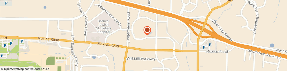 Route/map/directions to North St. Peters KinderCare, 63376 Saint Peters, 4150 S Cloverleaf Dr