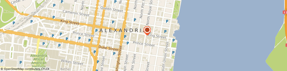 Route/map/directions to Martine and Alexander | The Irmer Group, 22314 Alexandria, 400 King Street
