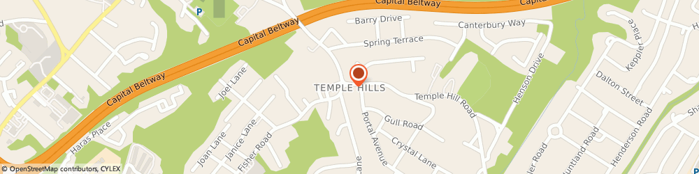 Route/map/directions to Eastern Walls & Ceilings, 20748 Temple Hills, 4810 SAINT BARNABAS ROAD FRNT