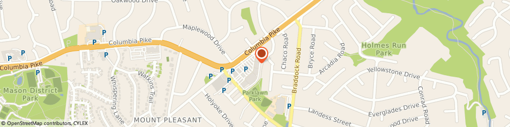 Route/map/directions to Navy Federal Credit Union, 22041 Falls Church, 6343 Columbia Pike