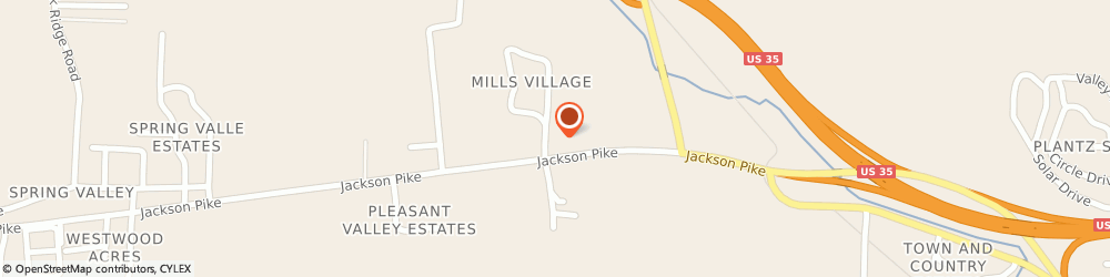 Route/map/directions to Knights Inn Gallipolis, 45631 Gallipolis, 260 Jackson Pike