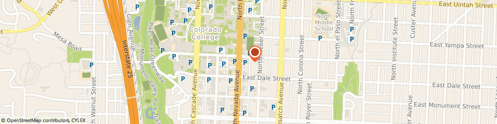 Route/map/directions to 100% Chiropractic - Downtown Colorado Springs, 80903 Colorado Springs, 213 East Cache La Poudre Street
