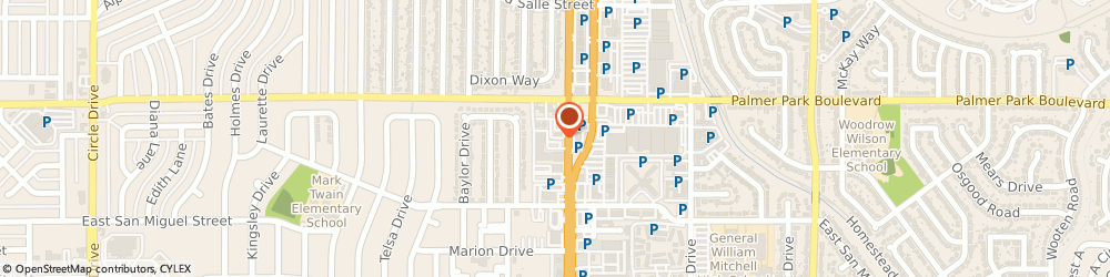 Route/map/directions to Citibank ATM, 80909 Colorado Springs, 1426 N Academy Blvd