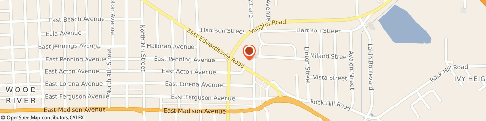 Route/map/directions to IHOP, 62095 Wood River, 1201 Edwardsville Rd
