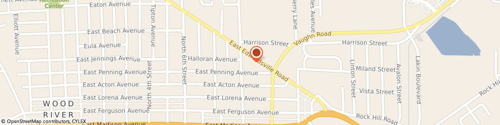 Route/map/directions to Advance Auto Parts, 62095 Wood River, 934 East Edwardsville Road