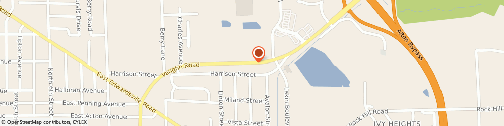 Route/map/directions to Progressive Insurance, 62095 Wood River, 1702 Vaughn Road