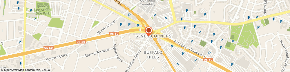 Route/map/directions to Bank of America, 22044 Falls Church, 6307 ARLINGTON BLVD