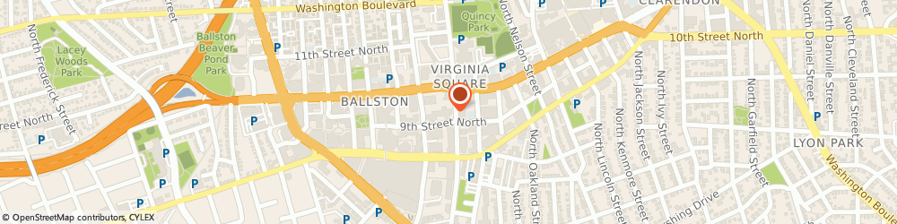 Route/map/directions to Gorgeous Smile: Arlington Cosmetic Dentist, 22203 Arlington, 4001 9th Street North