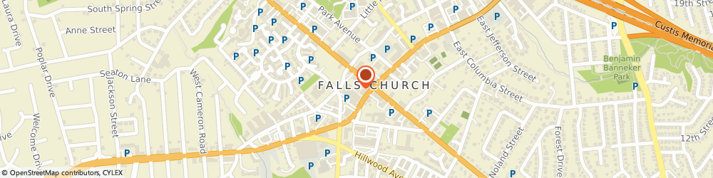 Route/map/directions to HOME INSTEAD, 22046 Falls Church, 103 W Broad St