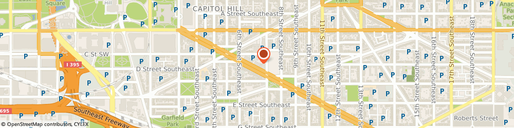 Route/map/directions to Alliance Chiropractic & Rehab, 20003 Washington, 650 Pennsylvania Ave SE, Ste 470