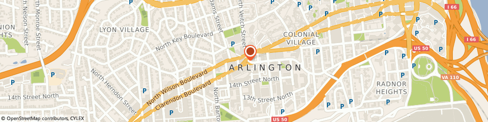 Route/map/directions to Harvey J. Ostrow: Allstate Insurance, 22201 Arlington, 2200 Wilson Blvd