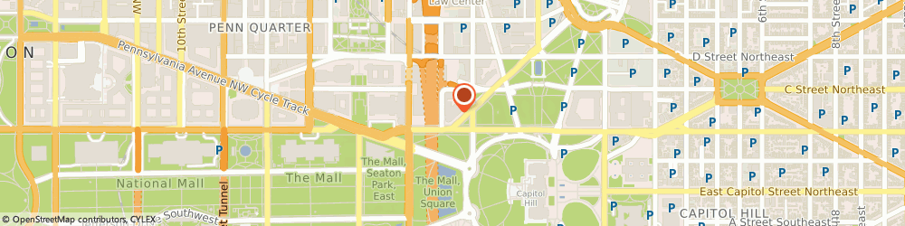 Route/map/directions to Exelon Energy, 20001 Washington, 101 CONSTITUTION AVE NW