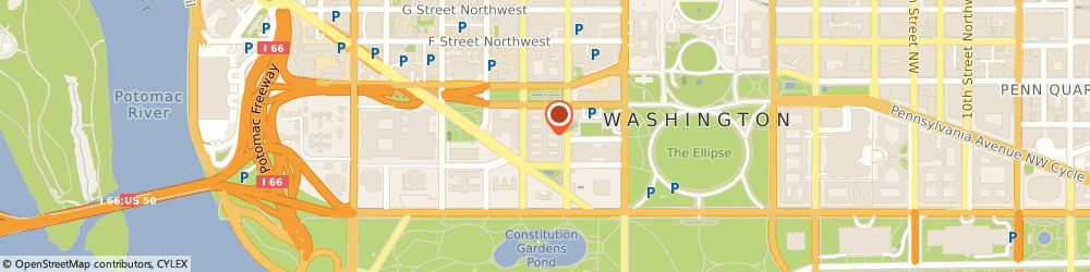 Route/map/directions to Fish and Wildlife Service, 20240 Washington, 1849 C St., Nw