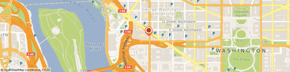 Route/map/directions to Post Office - Columbia Plaza, 20037 Washington, 516 23RD STREET NORTHWEST
