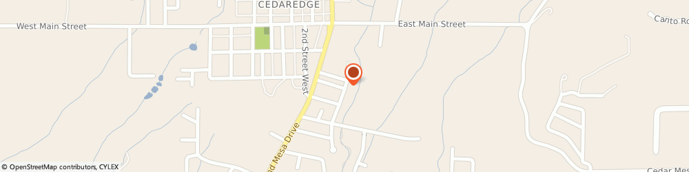 Route/map/directions to Seventh-Day Adventist Church, 81413 Cedaredge, 290 SE 2ND ST