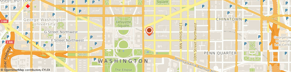 Route/map/directions to Dyncorp, 20005 Washington, 655 15TH STREET NORTHWEST