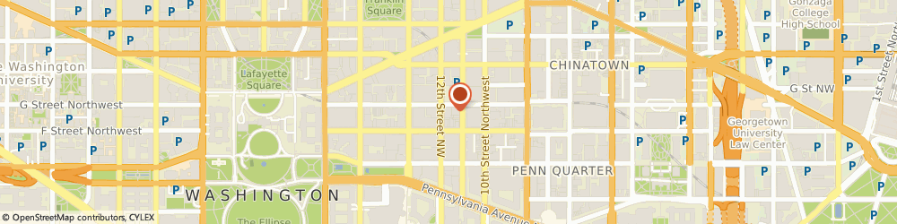 Route/map/directions to Wounded Warrior Project, 20005 Washington, 1120 G St NW Suite 700