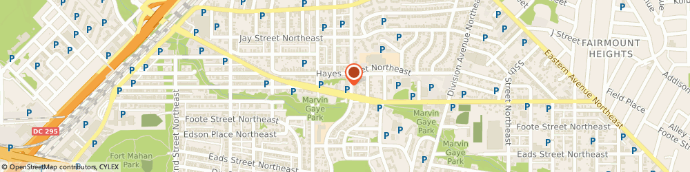 Route/map/directions to Citibank ATM, 20019 Washington, 4854 Nannie Helen Burroughs Ave