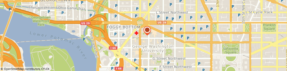 Route/map/directions to Citibank, 20037 Washington, 2221 I St Nw Ste 400