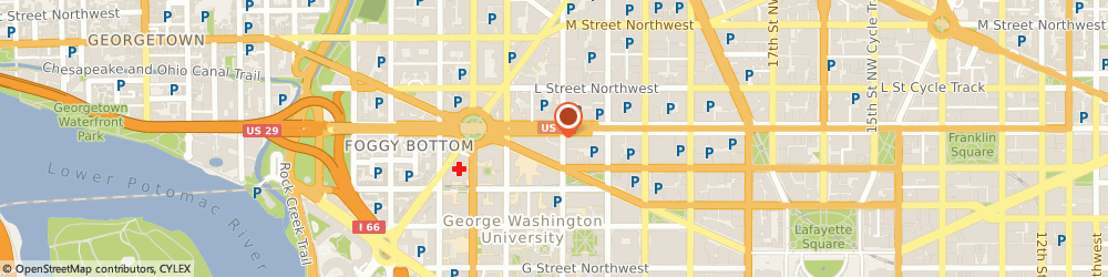 Route/map/directions to Office Of Mediation and Concitiation Service, 20427 Washington, 2100 K STREET, NW