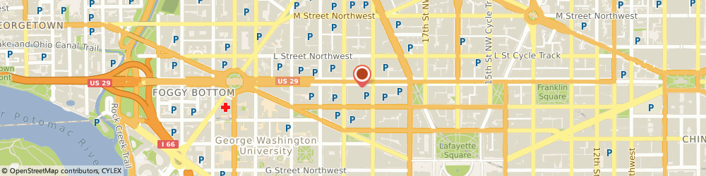 Route/map/directions to Radio Shack, 20006 Washington, 1830 K Street Nw
