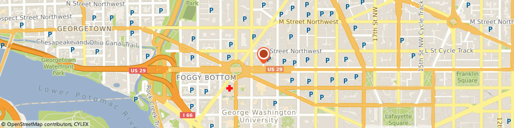 Route/map/directions to Chemical Safety and Hazard Investigation Board, 20037 Washington, 2175 K. Street, Nw Suite 400