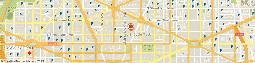 Route/map/directions to PNC, 20005 Washington, 1101 15TH STREET NORTHWEST