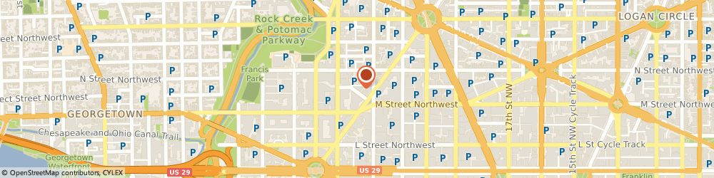 Route/map/directions to Post Office - Ward Place, 20037 Washington, 2121 WARD PLACE NORTHWEST