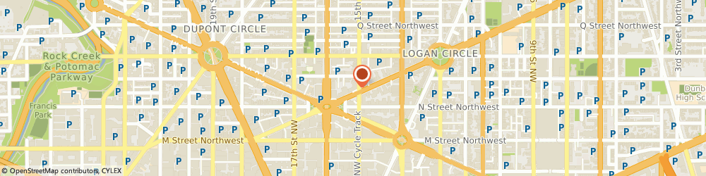 Route/map/directions to Avenue Cafe & Lounge, 20005 Washington, 1501 Rhode Island Ave, NW