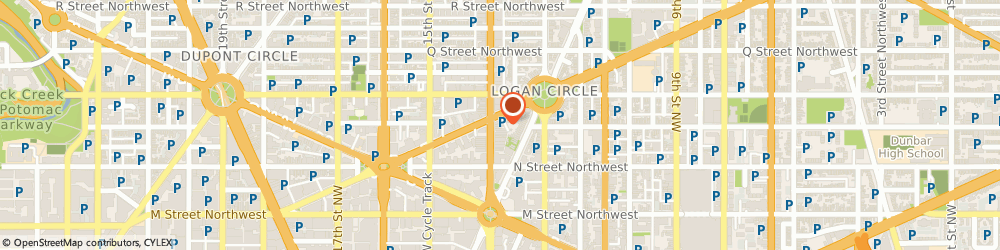 Route/map/directions to Citibank ATM, 20005 Washington, 1341 14Th Street Nw