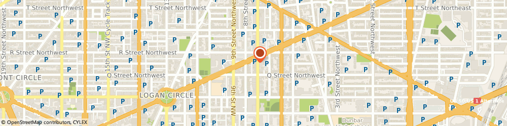 Route/map/directions to Citibank ATM, 20001 Washington, 1622 7Th St Nw
