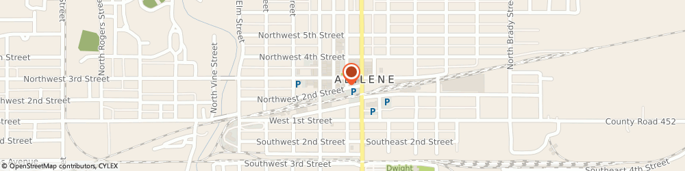 Route/map/directions to Farmers Insurance - Thomas Arevalo, 67410 Abilene, 204 NW 2nd St
