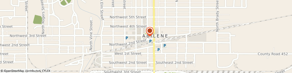 Route/map/directions to Shippy Alfred C Insurance, 67410 Abilene, 201 NORTHWEST 3RD STREET