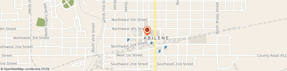 Route/map/directions to Farmers Insurance Group Of Companies, 67410 Abilene, 323 NORTH BROADWAY STREET