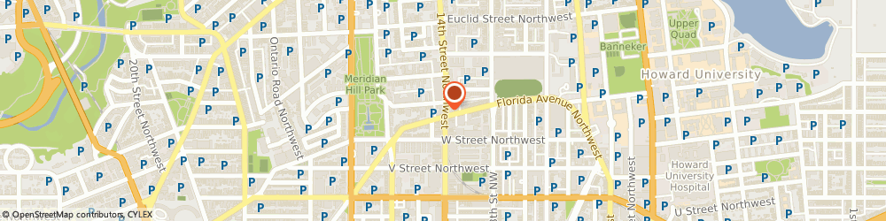 Route/map/directions to Citibank ATM, 20005 Washington, 2300 14Th Street Nw