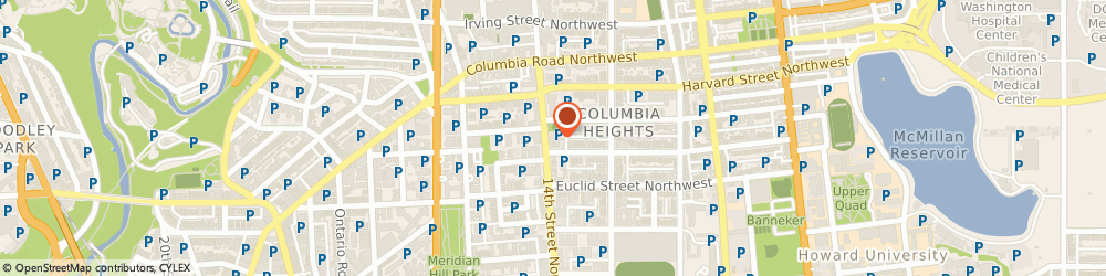Route/map/directions to Domino's Pizza, 20009-6994 Washington, 2701 14th St NW