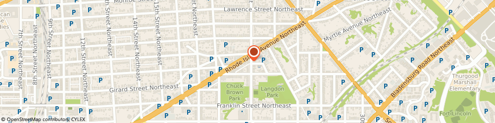 Route/map/directions to Citibank ATM, 20018 Washington, 1927 Rhode Island Ave Ne