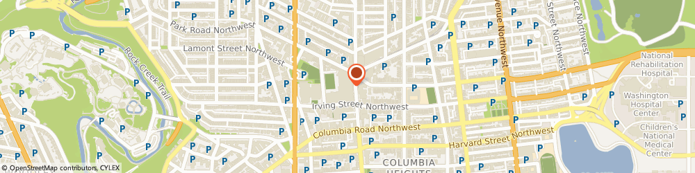 Route/map/directions to Radioshack, 20010 Washington, 3100 14Th St Nw #102