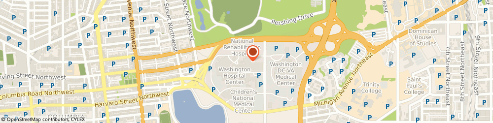 Route/map/directions to Cardiology Associates Pc - Irving Street Office, 20010 Washington, 106 IRVING STREET NORTHWEST