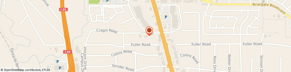 Route/map/directions to Dancing Bull Wealth Management, 80920 Colorado Springs, 7660 Goddard Street