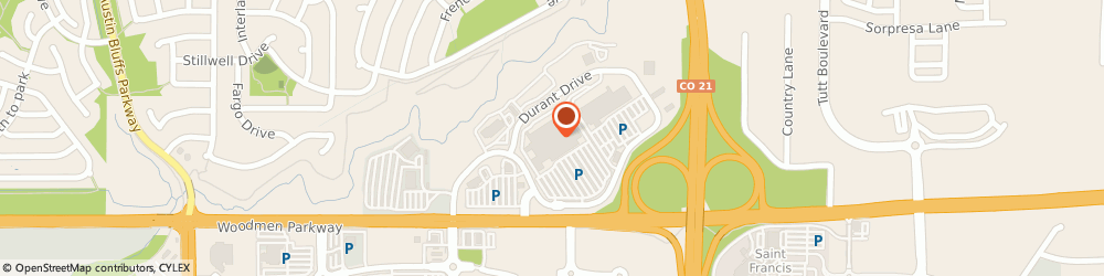 Route/map/directions to Citibank ATM, 80920 Colorado Springs, 5550 E Woodmen Rd