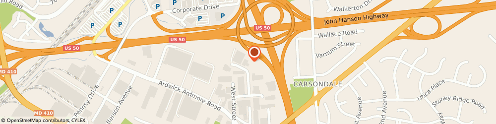 Route/map/directions to CENTRAL TRUCK CENTER, 20785 Landover, 3839 Ironwood Pl