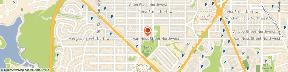 Route/map/directions to Ruttenburg Consulting, 20016 Washington, 4531 VAN NESS STREET NORTHWEST