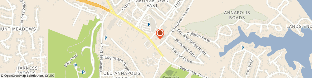 Route/map/directions to Navy Federal Credit Union ATM, 21403 Annapolis, 980 Bay Ridge Rd