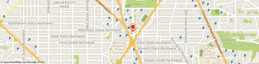 Route/map/directions to Masonic Temple - District Of Columbia, 20016 Washington, 4441 WISCONSIN AVENUE NORTHWEST