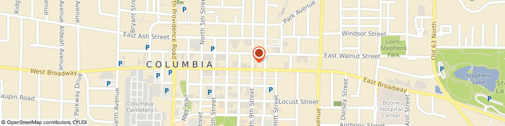 Route/map/directions to Seventh-Day Adventist Church, 65201 Columbia, STREET