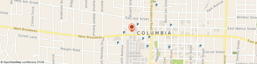 Route/map/directions to RE/MAX Columbia, 65203 Columbia, 33 E Broadway Ste 200