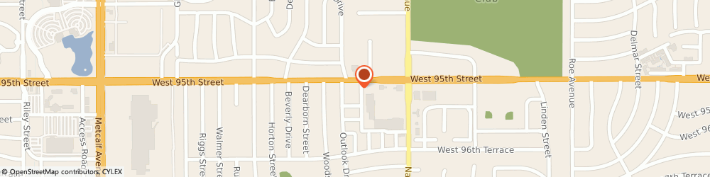 Route/map/directions to Pizza Hut, 66207 Overland Park, 5697 W 95th St
